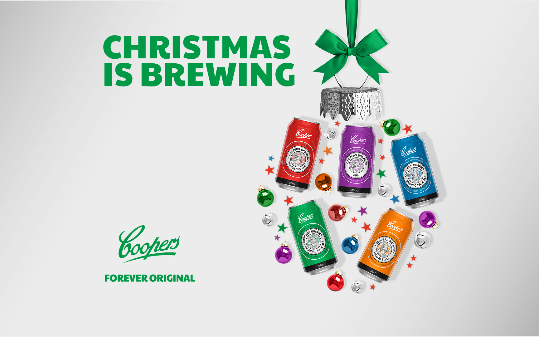 Coopers 6 Beers A-Brewing Campaign Key Visual
